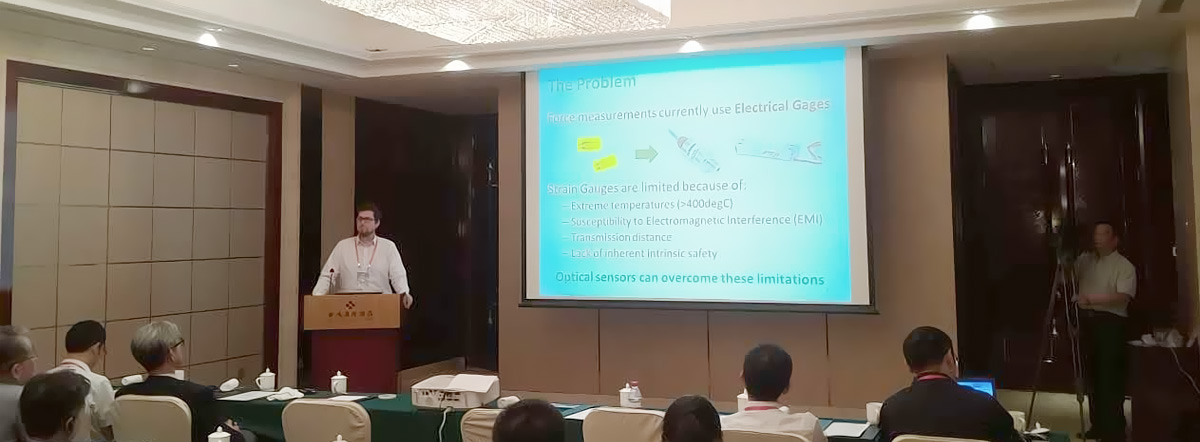Nicholas Burgwin presenting at the 2017 International Conference on Innovation and Entrepreneurship in Jinhjiang, China.